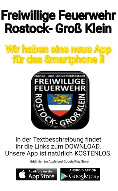 App von der Freiwilligen Feuerwehr Rostock- Groß Klein