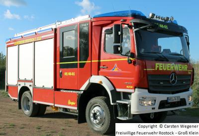 HLF 10 von der Freiwilligen Feuerwehr Rostock - Groß Klein