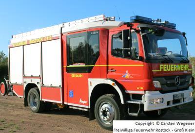 LF 20 von der Freiwilligen Feuerwehr Rostock - Groß Klein