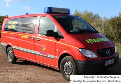 MTF von der Freiwilligen Feuerwehr Rostock - Groß Klein