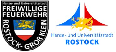 Wappen Freiwillige Feuerwehr Rostock - Groß Klein